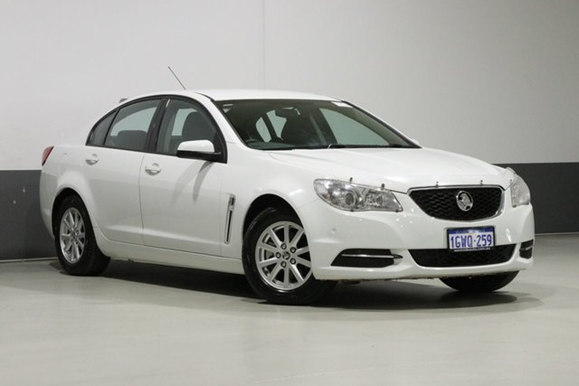 Used Holden Commodore VF Evoke, 2014 Holden Commodore VF Evoke White 6 Speed Automatic Sedan