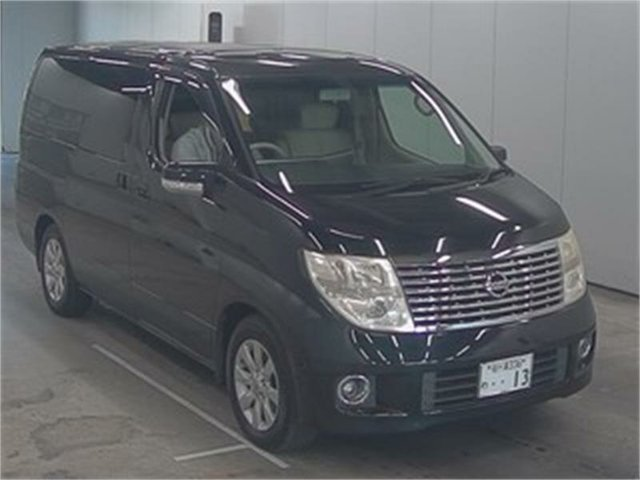 Used Nissan Elgrand  XL, 2006 Nissan Elgrand NE51 XL Black Automatic Wagon