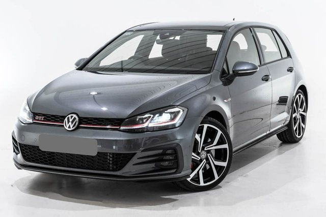 Used Volkswagen Golf 7.5 MY19.5 GTI DSG, 2019 Volkswagen Golf 7.5 MY19.5 GTI DSG Grey 7 Speed Sports Automatic Dual Clutch Hatchback