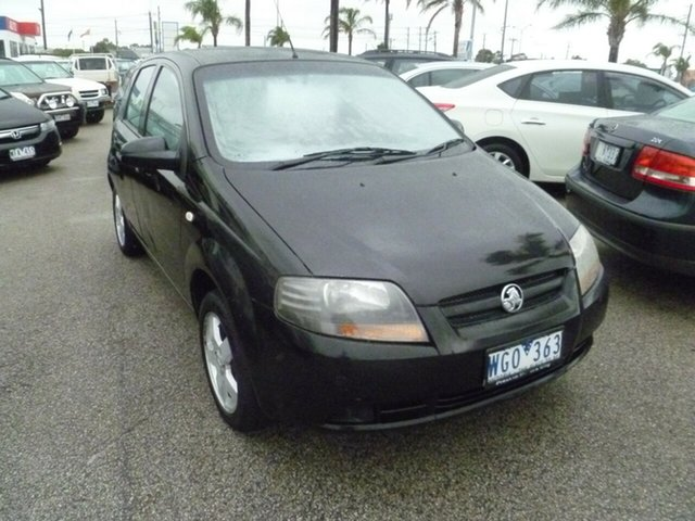 Used Holden Barina TK MY08 , 2007 Holden Barina TK MY08 Black 4 Speed Automatic Hatchback