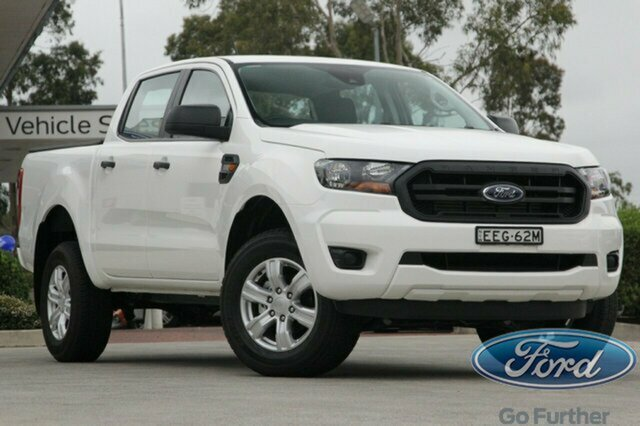 Used Ford Ranger PX MkIII 2019.00MY XL Pick-up Double Cab 4x2 Hi-Rider, 2019 Ford Ranger PX MkIII 2019.00MY XL Pick-up Double Cab 4x2 Hi-Rider White 6 Speed