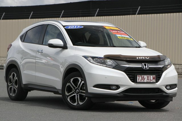 Used Honda HR-V MY17 VTi-L, 2017 Honda HR-V MY17 VTi-L White 1 Speed Constant Variable Hatchback