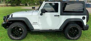 2013 Jeep Wrangler JK MY2013 Sport White 6 Speed Manual Softtop