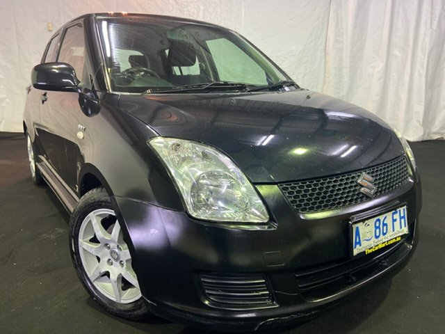 Used Suzuki Swift RS415 , 2008 Suzuki Swift RS415 Black 5 Speed Manual Hatchback