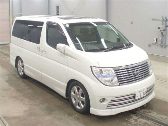 Used Nissan Elgrand  Highwaystar, 2005 Nissan Elgrand NE51 Highwaystar White Automatic Wagon