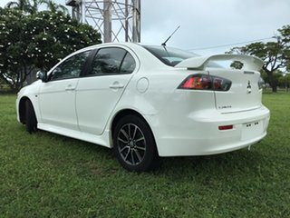 2017 Mitsubishi Lancer CF MY17 ES Sport White 6 Speed CVT Auto Sequential Sedan