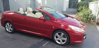 2007 Peugeot 307 MY06 Upgrade CC Dynamic Maroon 4 Speed Tiptronic Cabriolet.