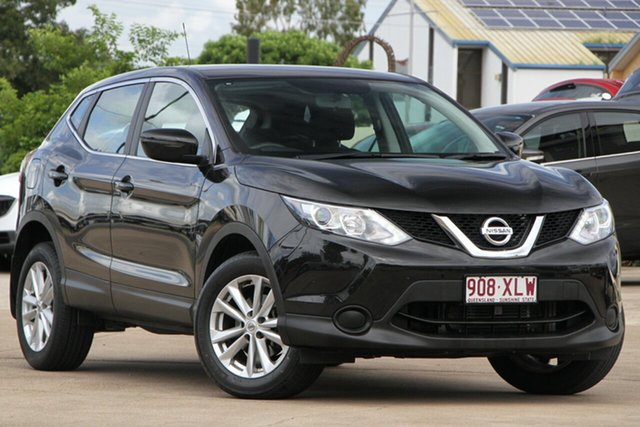 Used Nissan Qashqai J11 ST, 2017 Nissan Qashqai J11 ST Black 1 Speed Constant Variable Wagon