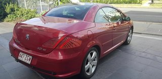 2007 Peugeot 307 MY06 Upgrade CC Dynamic Maroon 4 Speed Tiptronic Cabriolet