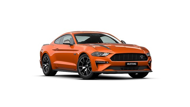 New Ford Mustang FN 2020MY High Performance RWD Ebbw Vale, 2020 Ford Mustang FN 2020MY High Performance RWD Twister Orange 10 Speed Sports Automatic Fastback