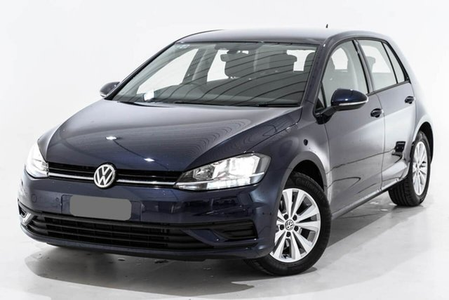 Used Volkswagen Golf 7.5 MY19.5 110TSI DSG Trendline, 2019 Volkswagen Golf 7.5 MY19.5 110TSI DSG Trendline Blue 7 Speed Sports Automatic Dual Clutch
