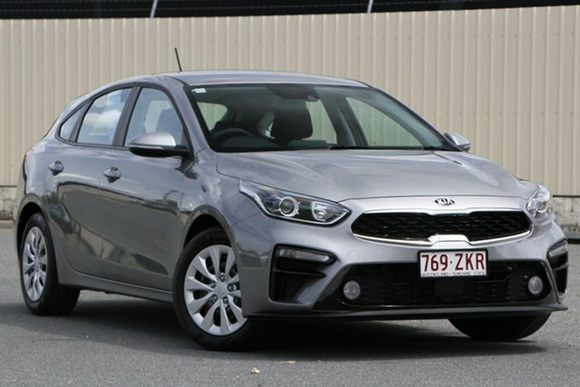 Used Kia Cerato BD MY20 S, 2019 Kia Cerato BD MY20 S Steel Grey 6 Speed Sports Automatic Hatchback