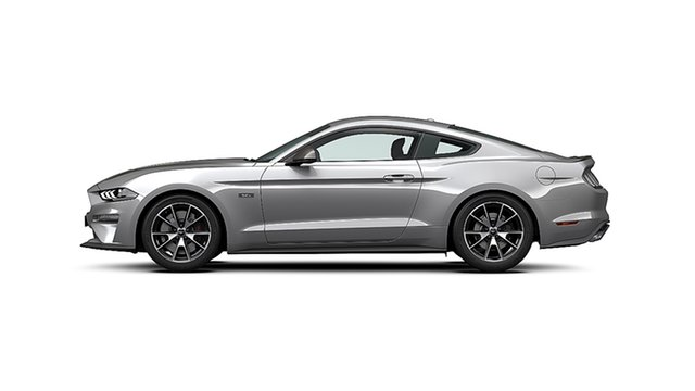 New Ford Mustang FN MY20 2.3 GTDi Dandenong, 2021 Ford Mustang FN MY20 2.3 GTDi Iconic Silver 10 Speed Automatic Fastback