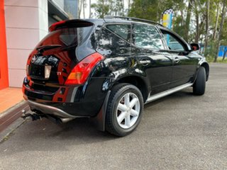 2005 Nissan Murano Z50 TI Black 6 Speed Wagon.