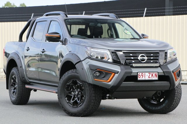 Demo Nissan Navara D23 S4 MY19 N-TREK Warrior, 2019 Nissan Navara D23 S4 MY19 N-TREK Warrior Slate Grey 7 Speed Sports Automatic Utility
