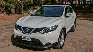 2015 Nissan Qashqai J11 ST White 1 Speed Constant Variable Wagon