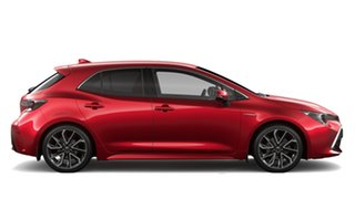 2020 Toyota Corolla ZWE211R ZR E-CVT Hybrid Feverish Red & Black Roof 10 Speed Constant Variable.