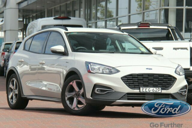 Used Ford Focus SA 2019.75MY Active, 2019 Ford Focus SA 2019.75MY Active Metropolis White 8 Speed Automatic Hatchback