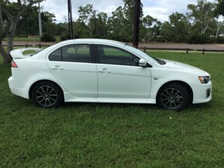 2017 Mitsubishi Lancer CF MY17 ES Sport White 6 Speed CVT Auto Sequential Sedan.