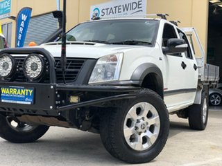2008 Holden Rodeo RA MY08 LX (4x4) White 5 Speed Manual Crew Cab Chassis