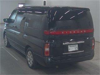 2006 Nissan Elgrand NE51 XL Black Automatic Wagon.