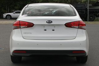 2017 Kia Cerato YD MY17 S White 6 Speed Sports Automatic Sedan