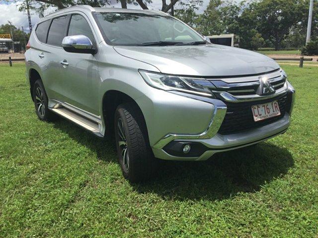 Used Mitsubishi Pajero Sport MY16 GLS (4x4) 7 Seat, 2017 Mitsubishi Pajero Sport MY16 GLS (4x4) 7 Seat Silver 8 Speed Automatic Wagon