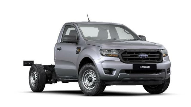 New Ford Ranger PX MkIII 2020.25MY XL 4x2, 2020 Ford Ranger PX MkIII 2020.25MY XL 4x2 Aluminium 6 Speed Manual Cab Chassis