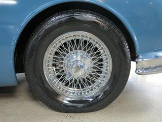 1959 Jaguar Mark II Blue 3 Speed Automatic Sedan