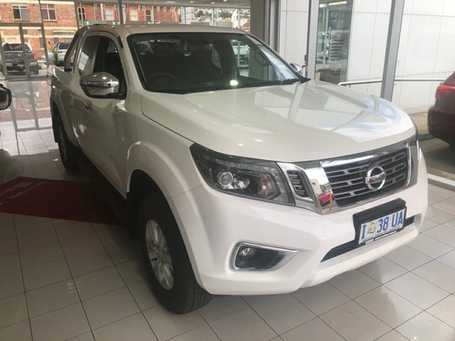 Demo Nissan Navara D23 S3 ST King Cab, 2019 Nissan Navara D23 S3 ST King Cab Polar White 7 Speed Sports Automatic Utility
