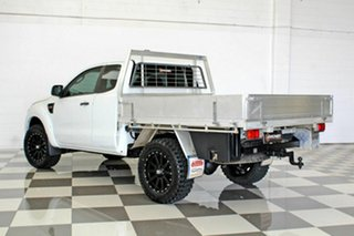 2015 Ford Ranger PX XL 2.2 Hi-Rider (4x2) White 6 Speed Automatic Super Cab Chassis