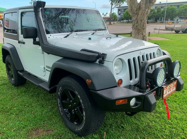Used Jeep Wrangler JK MY2013 Sport, 2013 Jeep Wrangler JK MY2013 Sport White 6 Speed Manual Softtop
