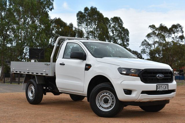 Used Ford Ranger PX MkIII 2019.00MY XL 4x2, 2019 Ford Ranger PX MkIII 2019.00MY XL 4x2 White 6 Speed Manual Cab Chassis