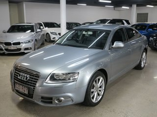 2011 Audi A6 4F MY11 Multitronic Grey 1 Speed Constant Variable Sedan.