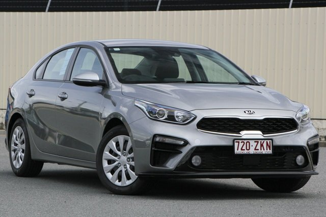 Used Kia Cerato BD MY20 S, 2019 Kia Cerato BD MY20 S Steel Grey 6 Speed Sports Automatic Sedan