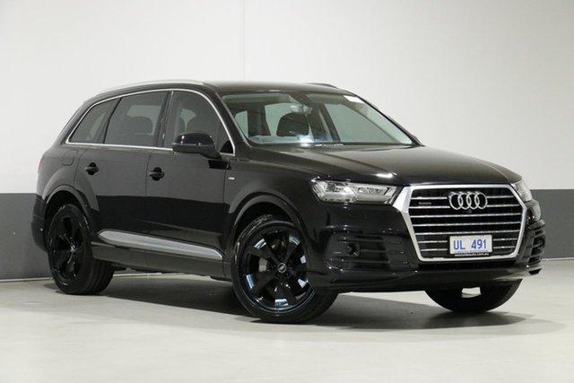 Used Audi Q7 4M 3.0 TDI Quattro, 2015 Audi Q7 4M 3.0 TDI Quattro Black 8 Speed Automatic Tiptronic Wagon