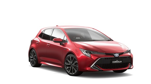 New Toyota Corolla ZWE211R ZR E-CVT Hybrid, 2020 Toyota Corolla ZWE211R ZR E-CVT Hybrid Feverish Red & Black Roof 10 Speed Constant Variable