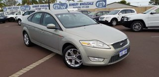 2009 Ford Mondeo MA TDCi Silver 6 Speed Sports Automatic Hatchback.