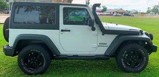2013 Jeep Wrangler JK MY2013 Sport White 6 Speed Manual Softtop.
