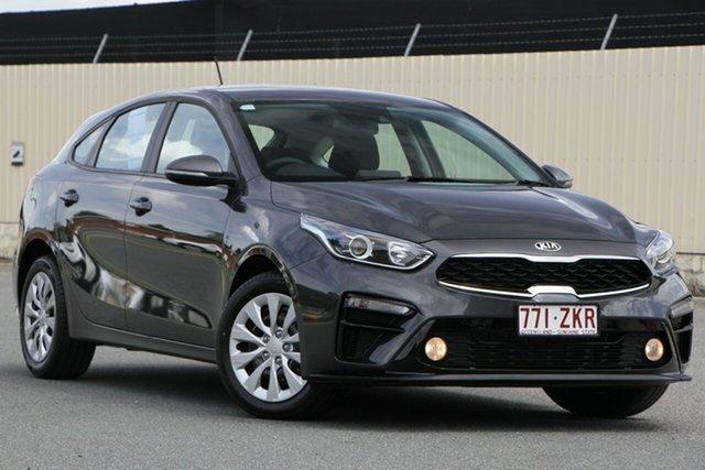 Used Kia Cerato BD MY20 S, 2019 Kia Cerato BD MY20 S Platinum Graphite 6 Speed Sports Automatic Hatchback