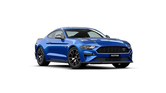 New Ford Mustang FN 2020MY High Performance RWD Ebbw Vale, 2020 Ford Mustang FN 2020MY High Performance RWD Velocity Blue 10 Speed Sports Automatic Fastback
