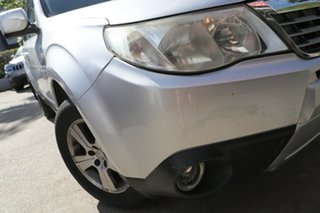 2008 Subaru Forester MY09 X Silver 4 Speed Auto Elec Sportshift Wagon.