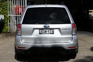 2008 Subaru Forester MY09 X Silver 4 Speed Auto Elec Sportshift Wagon