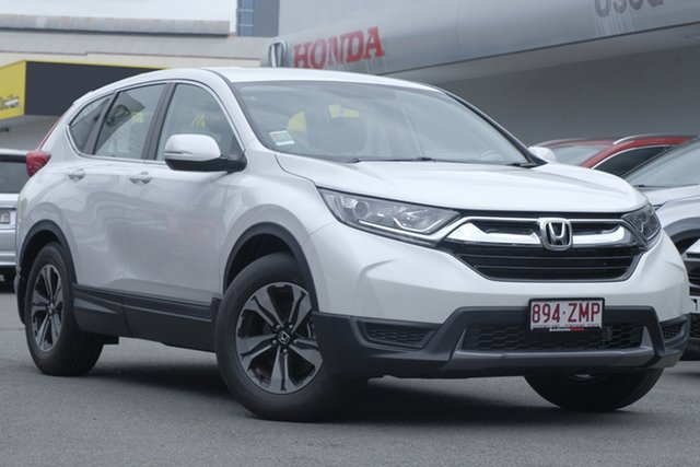 Demo Honda CR-V RW MY20 Vi FWD, 2019 Honda CR-V RW MY20 Vi FWD Platinum White 1 Speed Constant Variable Wagon