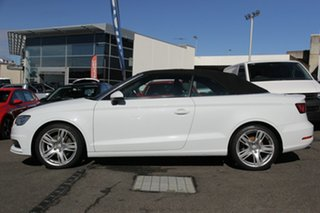 2014 Audi A3 8V MY15 Ambition S Tronic White 7 Speed Sports Automatic Dual Clutch Cabriolet