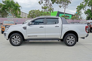 2018 Ford Ranger PX MkIII 2019.00MY Wildtrak Pick-up Double Cab Silver 6 Speed Sports Automatic