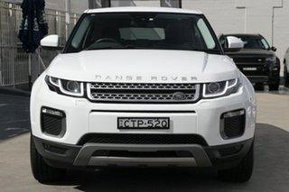 2017 Land Rover Range Rover Evoque L538 MY17 TD4 180 SE Fuji White 9 Speed Sports Automatic Wagon