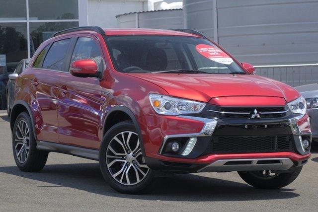 Used Mitsubishi ASX XC MY18 LS 2WD, 2018 Mitsubishi ASX XC MY18 LS 2WD Red 1 Speed Constant Variable Wagon