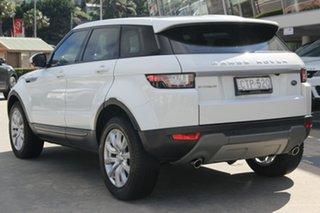 2017 Land Rover Range Rover Evoque L538 MY17 TD4 180 SE Fuji White 9 Speed Sports Automatic Wagon.