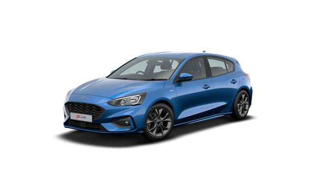 New Ford Focus SA 2020.25MY ST-Line, 2020 Ford Focus SA 2020.25MY ST-Line Desert Island Blue 8 Speed Automatic Hatchback